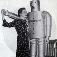 Домашний робот-помощник образца 1934 года.