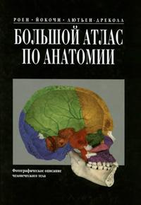 Большой атлас по анатомии — обложка книги.