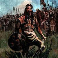 Кыргызский каган-завоеватель.