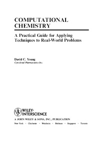 Computational Chemistry. A Practical Guide for Appling Techniques to Real-World Problems — обложка книги.
