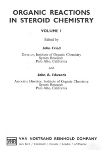 Organic Reactions in Steroid Chemistry. Volume 1 — обложка книги.
