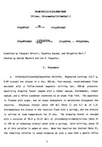 Organic syntheses. V. 68, 1989 — обложка книги.