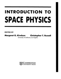 Introduction to space physics — обложка книги.