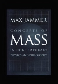 Concepts of mass in contemporary physics and philosophy — обложка книги.