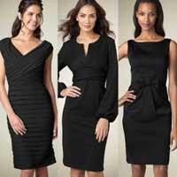Маленькие черные платья.
