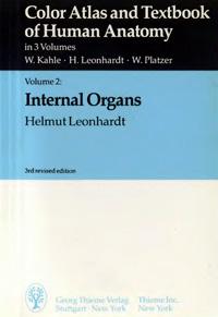 Color atlas and textbook of human anatomy. Vol.2: internal organs — обложка книги.