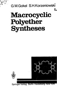 Macrocyclic Polyether Syntheses — обложка книги.