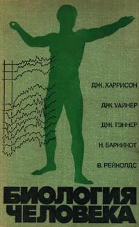 Биология человека — обложка книги.