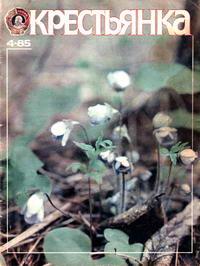 Крестьянка №04/1985 — обложка книги.