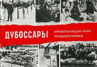 Дубоссары - кровоточащая рана Приднестровья — обложка книги.