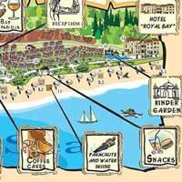 Карта курорта не заменит курортную карту.