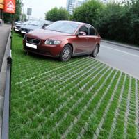 Зеленая парковка – функциональное украшение загородного участка